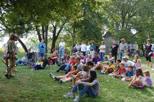 public engagement at Shawnee Lookout